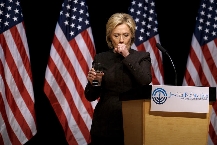 Why is Hillary Coughing (Again)?